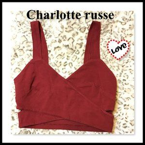 Charlotte Russe Sports Bra Size Small